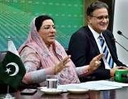 اسلام آباد: معاون خصوصی برائے اطلاعات و نشریات ڈاکٹر فردوس عاشق اعوان ..