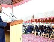گلگت: نگرال محلہ کے قریب ڈیڈی جواری پارک کی افتتاحی تقریب کے دوران خطاب ..