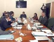 اسلام آباد: وزیر مملکت میاں محمود سومرو کے ای الیکٹرک اجلاس کی صدارت ..