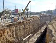 کراچی: گرین لائن بس ماس ٹرانزٹ نیٹ ورک کے جاری منصوبے کا کام جاری ہے