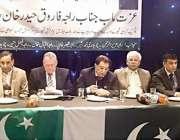 برطانیہ: وزیر اعظم آزاد کشمیر راجہ فاروق حیدر خان گلاسکو میں یکجہتی ..