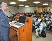 فیصل آباد: صوبائی وزیر سید حسین جہانیاں گردیزی ایگریکلچر یونیورسٹی ..