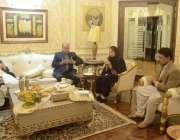 لاہور: صوبائی وزیر قانون و پارلیمانی امور راجہ بشارت تحریک انصاف کی ..