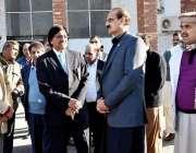 راولپنڈی: وفاقی وزیر برائے نیشنل ہیلتھ سروسز ، ریگولیشن اینڈ کوآرڈینیشن ..