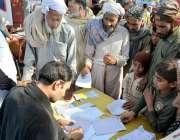 لاہور: کرن ویلفیئر فاؤنڈیشن کے زیر اہتمام شاہ پور بھنگو میں پانچویں ..