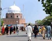 ملتان: حضرت بہاؤالدین زکریا رضی اللہ عنہا کی 780 ویں عرس کی تقریبات میں ..