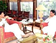 اسلام آباد: وزیر اعظم عمران خان سے خیبر پختونخوا کے سینئر صوبائی وزیر ..
