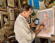 فیصل آباد: قائداعظم کی برسی کے سلسلے میں سلیمی چوک کے قریب قائد اعظم ..
