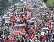 لاہور: پاکستان ورکر فیڈریشن کے زیر اہتمام یوم مئی کے حوالے سے نکالی ..