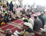 لاہور: تحفظ ناموس رسالت محاز کے زیر داتا دربار میں سانحہ نیوزی لینڈ ..