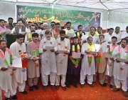 راولپنڈی: ایم این اے راشد شفیق میونسپل ورکرز لیگ کے نو منتخب عہدیداران ..