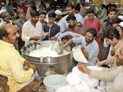 HYDERABAD: Visitors viewing the Sindhi culture village model