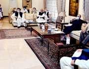 پشاور: وزیراعلی خیبر پختونخوامحمودخان اے ڈی پی کے اجلاس کی صدارت کر ..