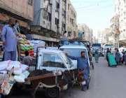 کراچی : جوڑیا بازار معمول کے مطابق کھلا ہے۔
