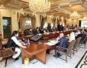 اسلام آباد: وزیر اعظم عمران خان جمعرات کو وزیر اعظم سیکرٹریٹ میں مشترکہ ..