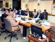 اسلام آباد: چیئرمین نیب ،  جاوید اقبال کی صدارت میں نیب ہیڈ کوارٹرز ..