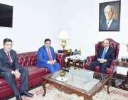 اسلام آباد: مسٹر زاہد عباسی ، سکریٹری ، ریاستی زلزلہ تعمیر نو اور بحالی ..
