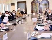 اسلام آباد، مشیر خزانہ عبدالحفیظ شیخ کابینہ کی اقتصادی رابطہ کمیٹی ..