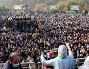 اسلام آباد، مسلم لیگ ن کی نائب صدر مریم نواز مسلم لیگ ن آزاد کشمیر کے ..