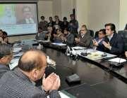 اسلام آباد: وفاقی وزیر برائے قومی فوڈ سیکیورٹی اینڈ ریسرچ خسرو بختیار ..