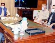 گورنر بلوچستان امان الله خان یسین زئی سے انور خان کی قیادت میں وفد ملاقات ..