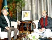 اسلام آباد: صدر ڈاکٹر عارف علوی چیئرمین ، اسلامی نظریاتی کونسل ، ڈاکٹر ..