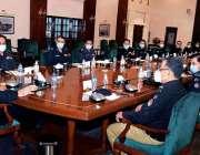 کراچی، وزیراعلی سندھ سید مراد علی شاہ سے آئی جی سندھ مشتاق مہر کی قیادت ..