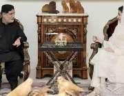 لاہور، مسلم لیگ ن کی نائب صدر مریم نواز سے بلوچستان نیشنل پارٹی مینگل ..