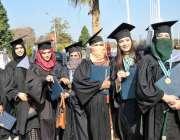 اسلام آباد: کنونشن سنٹر میں چوتھی کانووکیشن  ایچ ای ٹی ای سی یونیورسٹی ..