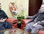اسلام آباد: منیجنگ ڈائریکٹر پاکستان بیت المال ، عون عباس بپی اور وفاقی ..