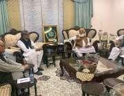 اسلام آباد، پاکستان ڈیموکریٹک موومنٹ کے صدر مولانا فضل الرحمن گجرانوالہ ..