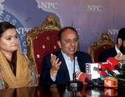 اسلام آباد: پاکستان مسلم لیگ (ن) کی رہنما ڈاکٹر مصدق ملک نے این پی سی ..