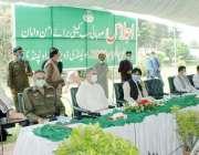 راولپنڈی: صوبائی وزیرقانون راجہ بشارت محرم الحرام کے سلسلہ میں صوبائی ..