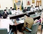بہاولپور: سینئر وزیر عبد العلیم خان گندم و آٹے کی صورتحال سے متعلق اجلاس ..