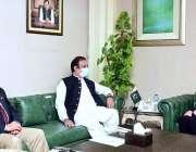 اسلام آباد، سینیٹر شبلی فراز سے امریکی سفارتکار انجیلا اگیلر ملاقات ..