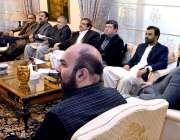پشاور: وزیراعلیٰ خیبرپختونخوا محمود خان وزیراعلیٰ ہاؤس میں نئے ضم ..