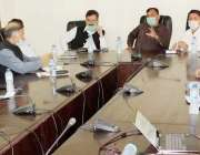 مظفر آباد: وزیر آئی ٹی ڈاکٹر مصطفی بشیر عباسی، وزیر اطلاعات و سیاحت ..