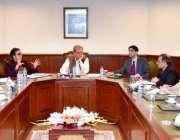 اسلام آباد: وفاقی وزیر برائے امور خارجہ ، مخدوم شاہ محمود قریشی کی زیر ..