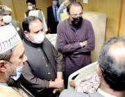 لاہور، وزیراعلی پنجاب عثمان بزدار سروسز ہسپتال میں زیر علاج پاکستان ..