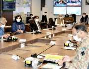 اسلام آباد: وفاقی وزیر منصوبہ بندی ، ترقیات اور خصوصی اقدامات اسد عمر ..