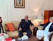 اسلام آباد: وزیر داخلہ ، بریگیڈ (ر) اعجاز احمد شاہ نے ایس اے پی ایم سے ..