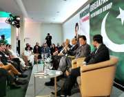 ڈیوس: وزیر اعظم عمران خان خطاب کر رہے ہیں۔