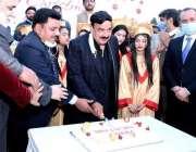 اسلام آباد، وزیر داخلہ شیخ رشید احمد سی ڈی اے ہیڈکوارٹرز میں کرسمس ..