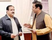 لاہور، وزیراعلی پنجاب عثمان بزدار سے وزیراعلی شکایات سیل کے وائس چئیرمین ..