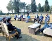 اسلام آباد، جمہوریہ جبوتی کے قومی اسمبلی صدر محمد علی حمید پارلیمانی ..