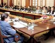لاہور: وزیراعلی پنجاب سردار عثمان بزدار صوبائی کابینہ کے اجلاس کی صدارت ..