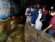 کراچی : شہر قائد میں طوفانی بارش کے نتیجے میں سیلابی ریلے کی کیفیت پیدا ..