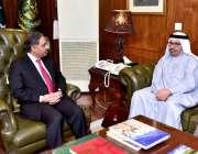 اسلام آباد: سکریٹری خارجہ ، جناب سہیل محمود ، متحدہ عرب امارات کے ایچ ..