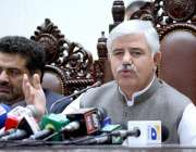 پشاور: وزیراعلیٰ خیبرپختونخوا ، محمود خان سی ایم ہاؤس میں حلف برداری ..