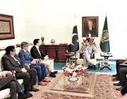 اسلام آباد: وزیر اعظم عمران خان سے وی ای او این کے شریک چیف ایگزیکٹو ..